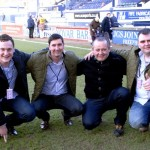 Ball Sponsors, Towergate Insurance, before the game