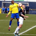 Fouad Bachirou outjumps Raith captain Grant Murray.jpg