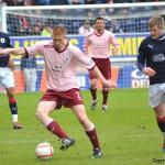 Jason Thomson on the ball