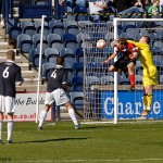 McGurn saves at the near post
