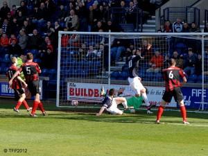 It's Bairds goal and Raith's second