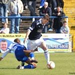 Davidson evades a Bachirou tackle