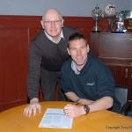 David McGurn signs