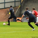 Brian Graham scores form the penalty spot