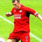 Greig Spence opened the scoring
