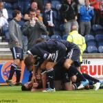 Pile Up goal celebrations