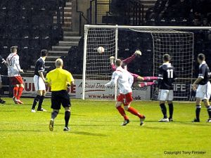 Josh Watt puts Aidrie one up