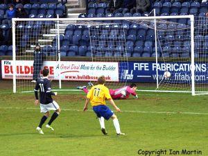 Milne opens the scoring
