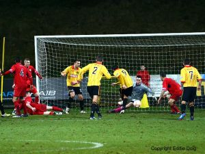 Steven Craig hits the Jags winner