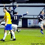 It's that Greig Spence goal celebration