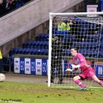 Ross Laidlaw's penalty save.