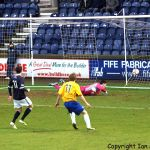 Lewis Milne opens the scoring