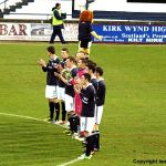 A minutes applause before kick off