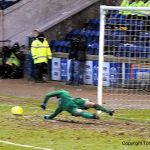 Cuthbert saves Walkers spot kick