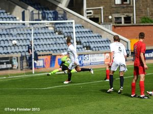 Gordon Smith opens the scoring.