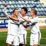 Goal 1 celebrations