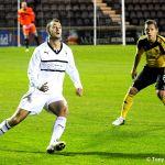 10 Goal scorer Gordon Smith.