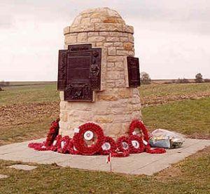 The Contalmaison Cairn Memorial