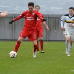 Cardle keeps his eyes on the ball.