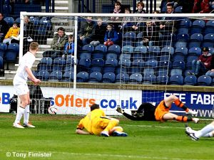16 Mark Gilhaney opens the scoring