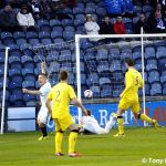 Cardle opens the scoring....