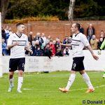 Penalty celebration