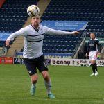 Ryan Conroy keeps his eyes on the ball.