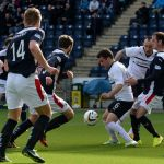 Lewis Vaughan surrounded in the Falkirk box.