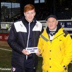 Bill Cunningham 50/50 winner £560 for ticket 34680