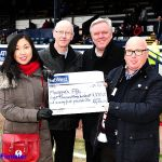 Presentation to Maggies  £8375.20