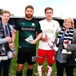 MotM awards Craig Barr and Will Vaulks