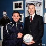 Ball sponsor Gordon Stanford