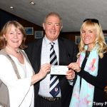 McMillan club cheque presentation