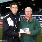 50/50 winner Peter Martin  £920 FOR TICKET 50041