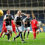Lewis Vaughan scores penalty