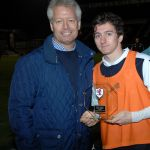 Sponsors man of the match CHRIS JOHNSON   - 