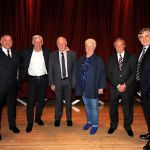 Bill Leckie, Jim McCalliog, Craig Brown, Val McDermid, Willie Johnstone, Gordon Brown
