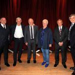 Bill Leckie, Jim McCalliog, Craig Brown, Val McDermid, Willie Johnstone, Gordon Brown