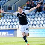 DECLAN MCMANUS celebrates scoring - 