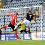 Greig Spence sets up Liam Buchanan goal