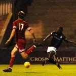 Raith v Brora -  YAW OSEI scores his 1st goal for Raith