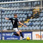GREIG SPENCE goal ruled offside