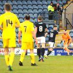 Raith v Ayr -  SHANKLAND (17) lobs keeper for goalcredit- Fife Photo Agency