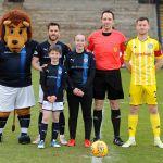 Raith v Ayr - mascots - credit- Fife Photo Agency