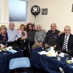 Neeburs O' Geordie Munro enjoying their night in the match sponsors lounge. Happy Birthday Heather!