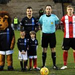 Jay Adamson Anthony and Declan O'Duibhinn enjoying their night as mascots.