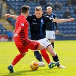Raith v Queens Park -  Scott Robertson takes on ANTON Brady - 