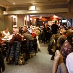 The Raith Suite packed with hospitality guests
