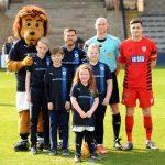 Our mascots were Chloe Gordon, Adam Kelly, Hayley Lessels and Aaron Dall. We hope you all enjoyed the day.