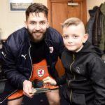 Match Sponsors Key-Tech chose Aaron Lennox as the Man of the Match